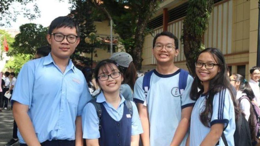 Trường Phổ thông Năng khiếu công bố chỉ tiêu tuyển sinh lớp 10
