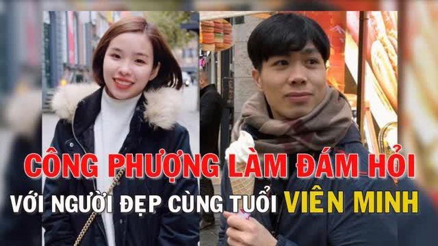 Video Công Phượng bất ngờ làm đám hỏi cùng Viên Minh