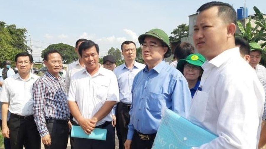 Xử lý nghiêm sai phạm về trật tự đô thị tại huyện Bình Chánh