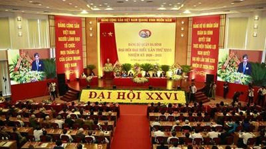 Các đảng bộ tổ chức đại hội nhiệm kỳ 2020-2025