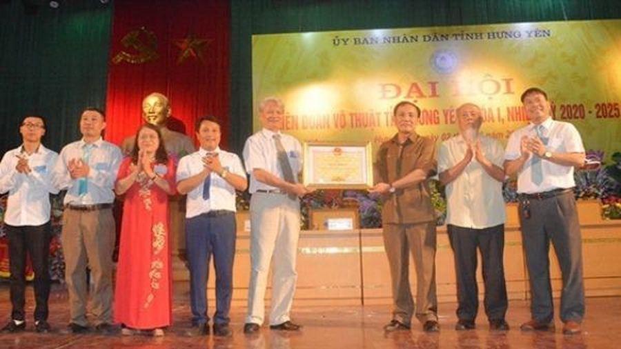Thành lập Liên đoàn Võ thuật tỉnh Hưng Yên