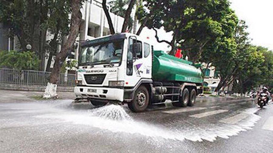 Hà Nội chính thức cho rửa đường trở lại