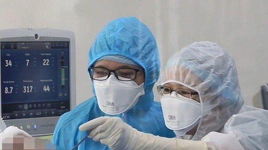 Tình hình sức khỏe của BN91 được cải thiện, ngừng sử dụng ECMO