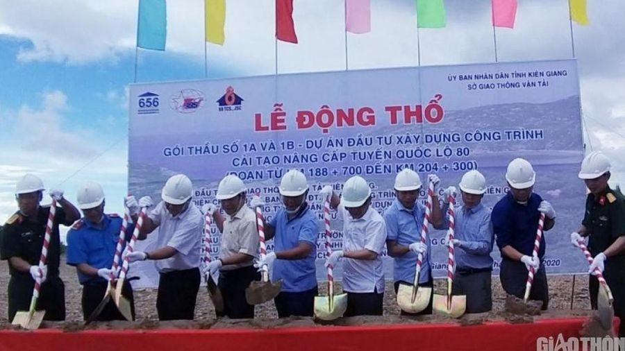 320 tỷ đồng cải tạo, nâng cấp QL80 đoạn qua Kiên Giang