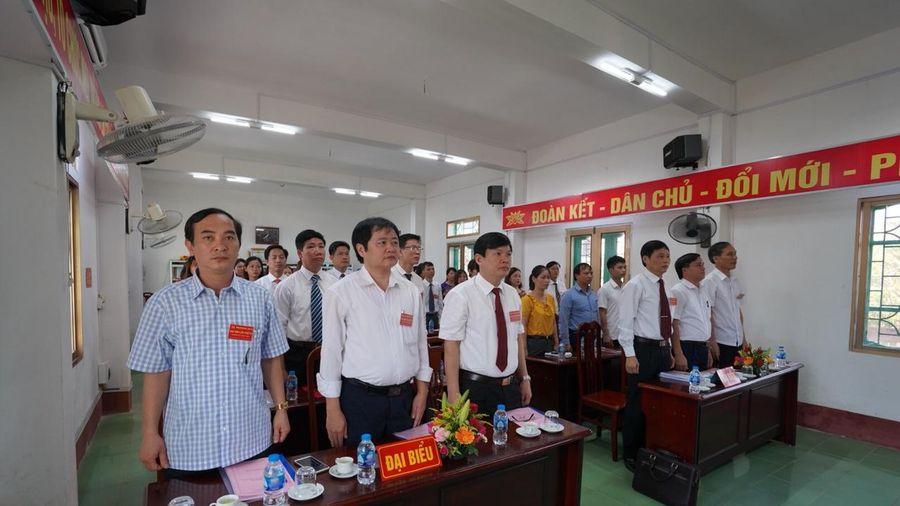 Đại hội Đảng bộ Giáo dục- Đào tạo Xuân Trường lần thứ IV