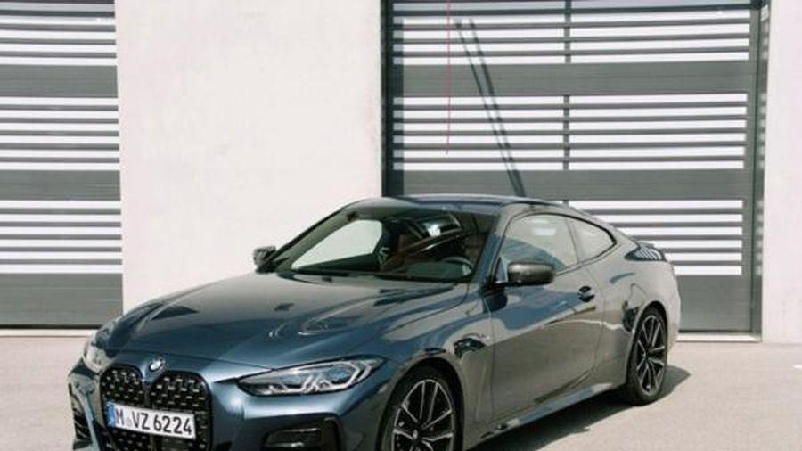 BMW ra mắt 4-Series Coupe 2021 với lưới tản nhiệt hàng khủng