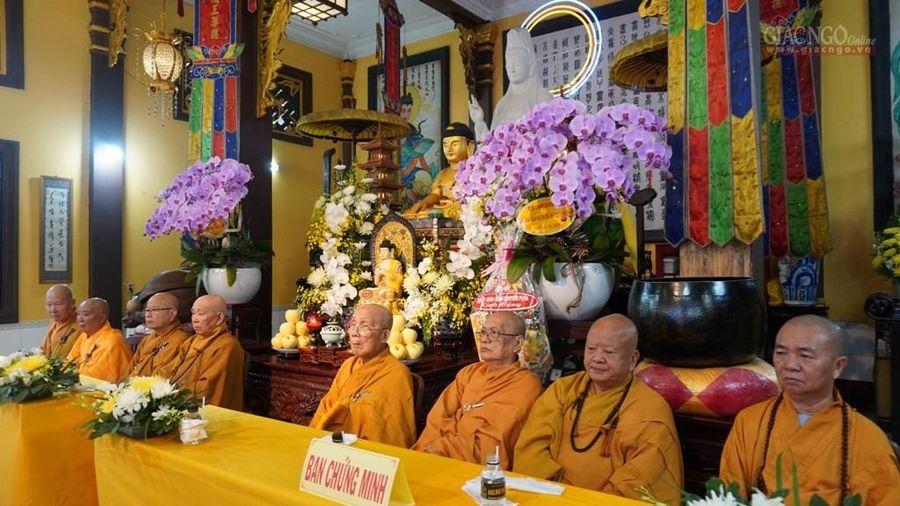 Phật giáo Q.4 khai giảng khóa An cư PL.2564