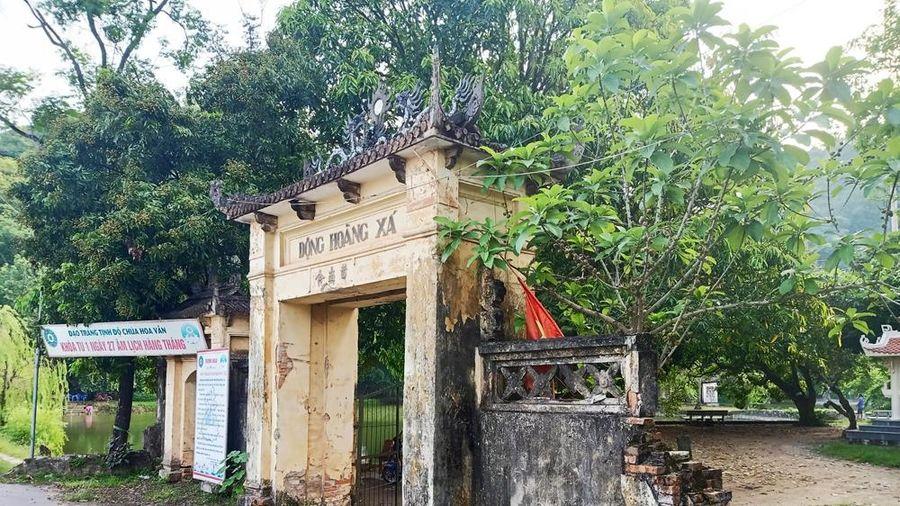 Hà Nội: Di tích động Hoàng Xá, Quốc Oai sắp trở thành phế tích