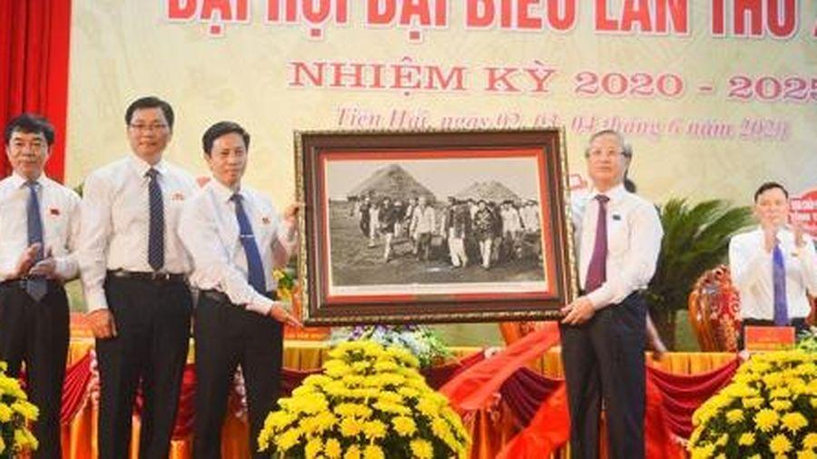 Đại hội Đảng bộ huyện Tiền Hải (Thái Bình): Đưa Tiền Hải xứng đáng là quê hương anh hùng, quê hương của tiếng trống năm 30