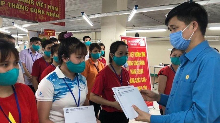 Công đoàn Việt Nam dành nguồn lực hỗ trợ người lao động