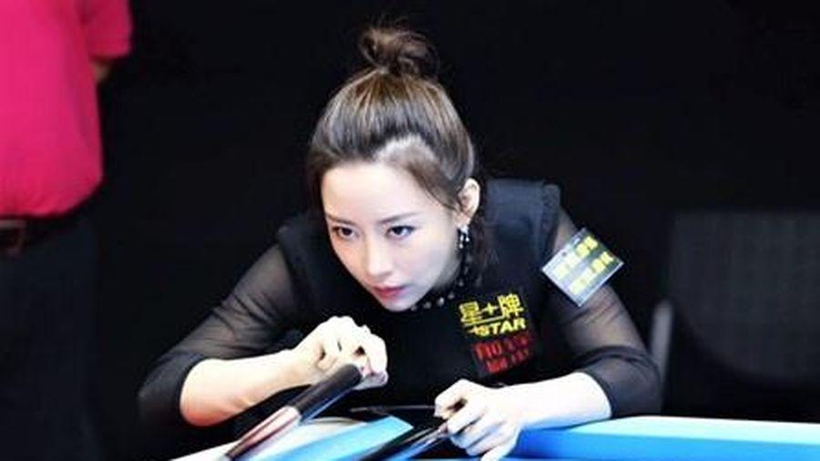Những đường cơ đỉnh cao của nữ hoàng billiards Trung Quốc