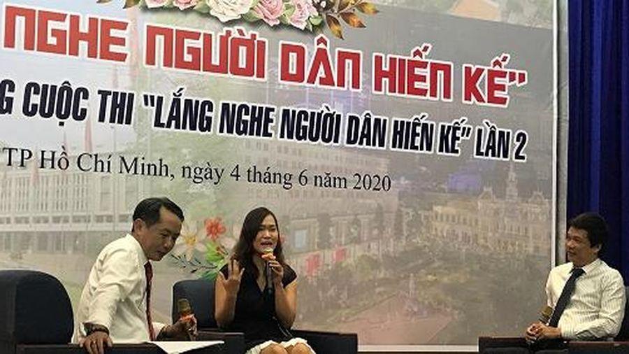 Nữ bác sĩ nội trú đoạt giải nhất 'Lắng nghe người dân hiến kế'
