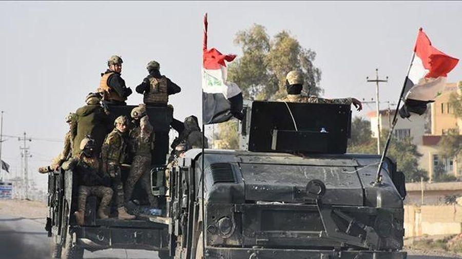 I-rắc tổng tiến công truy quét phiến quân IS