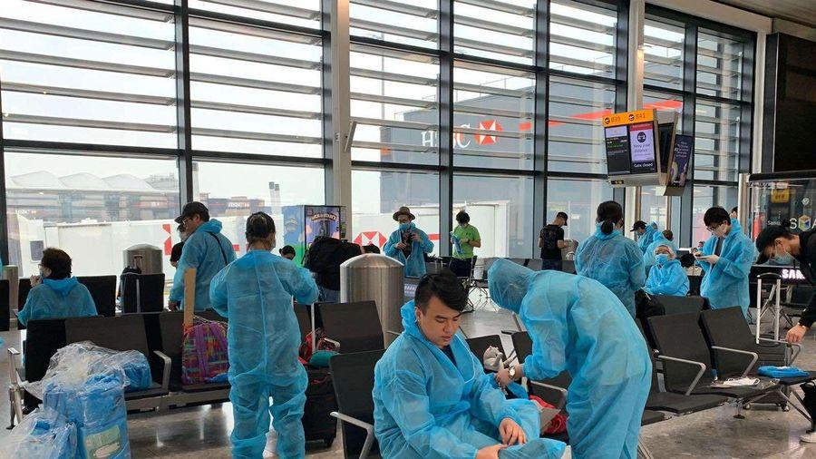 Gần 340 công dân Việt Nam ở Anh đã về nước an toàn