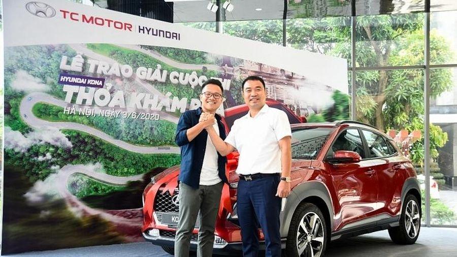 Cuộc thi 'KONA - Thỏa khám phá' đã tìm ra chủ nhân nhận giải là chiếc Hyundai KONA