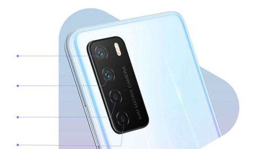 Smartphone chống nước, kết nối 5G, RAM 8 GB, pin 4.300 mAh, giá 'hạt dẻ'