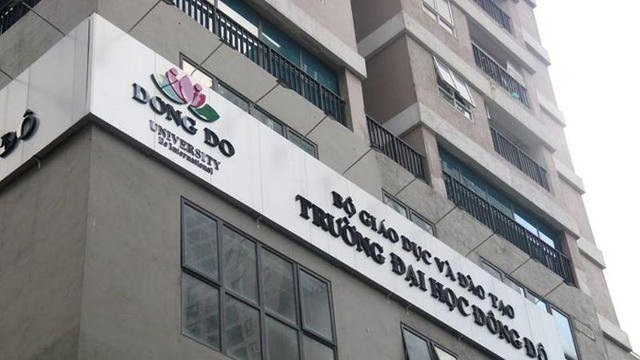 Bắt cựu Trưởng phòng Tài chính kế toán Trường Đại học Đông Đô
