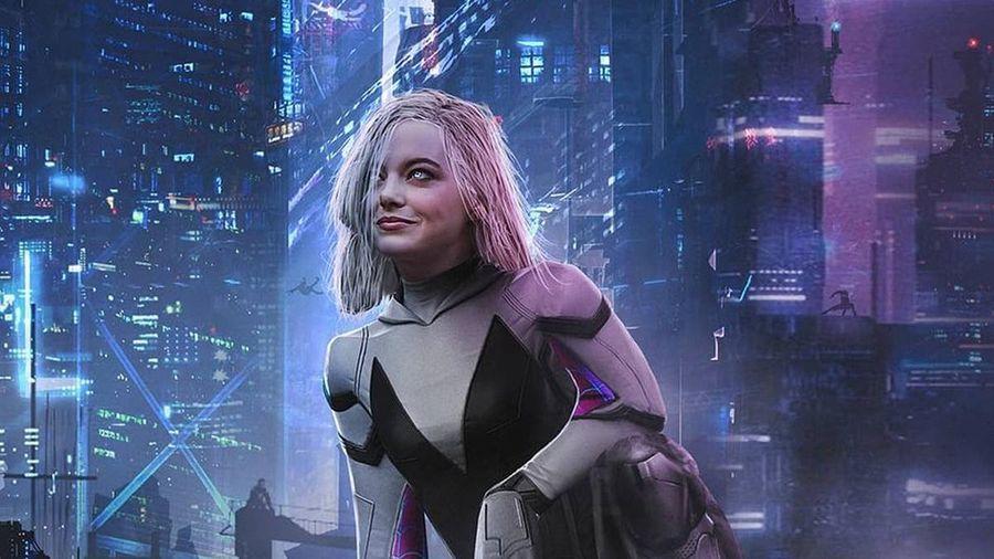 Sẽ ra sao nếu Emma Stone trở thành Spider-Gwen?