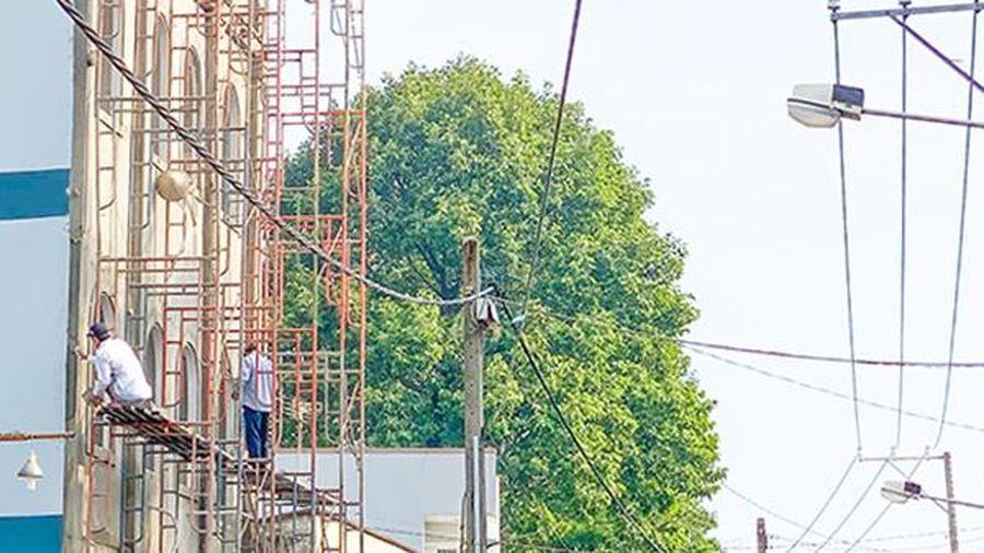 Chú ý an toàn lao động khi xây dựng nhà ở riêng lẻ