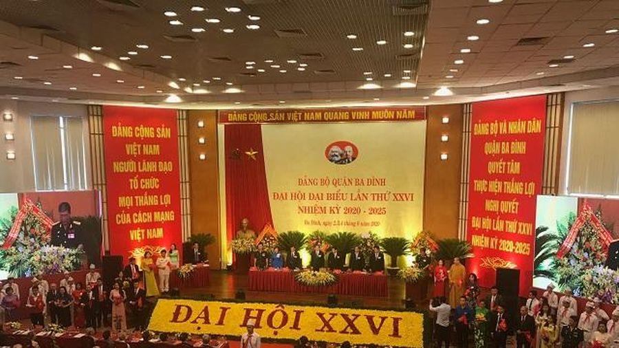 Đại hội đại biểu Đảng bộ quận Ba Đình (Hà Nội) lần thứ XXVI, nhiệm kỳ 2020-2025: 'Đoàn kết - Dân chủ - Kỷ cương - Trí tuệ - Đổi mới'
