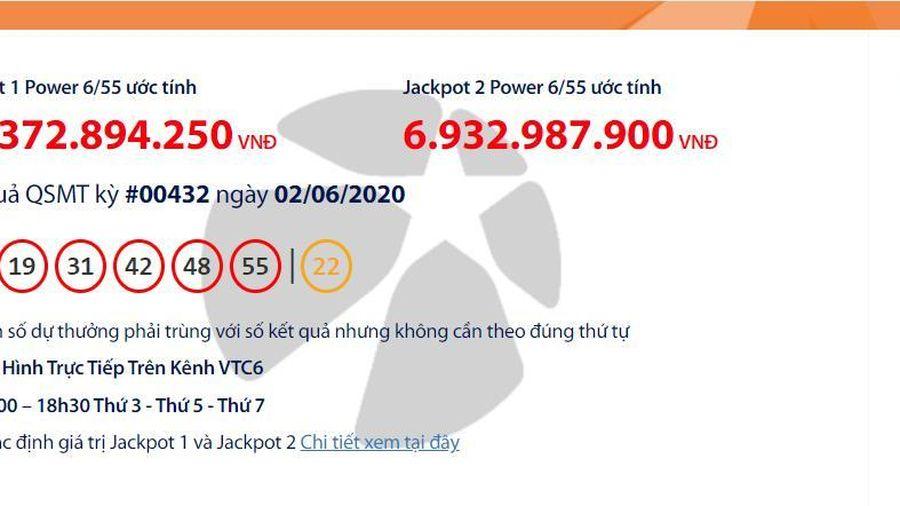 Kết quả xổ số Vietlott Power 6/55 tối ngày 4/6/2020: Những vị khách nào vừa trúng tổng cộng hơn 50 tỉ đồng?