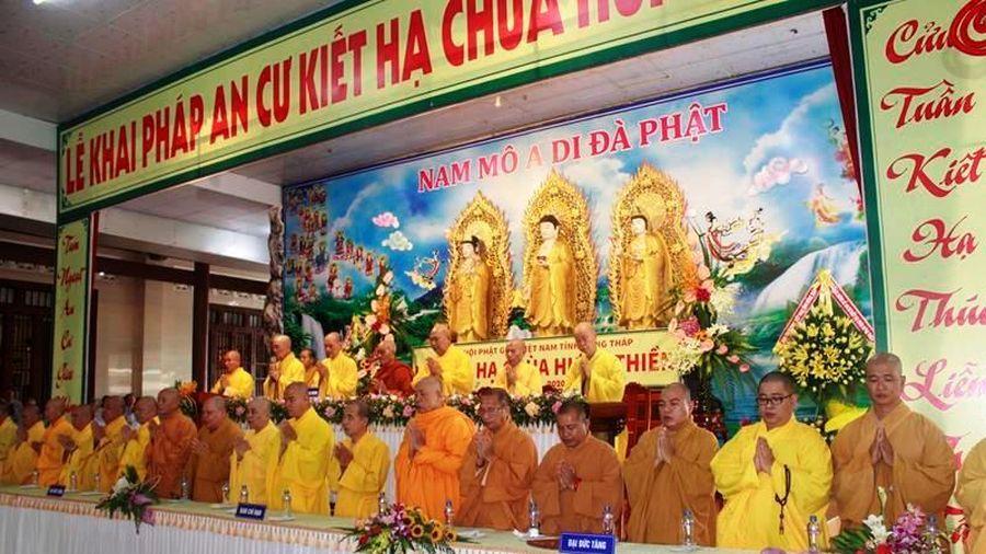 Đồng Tháp : Đạo tràng an cư chùa Hưng Thiền khai giảng