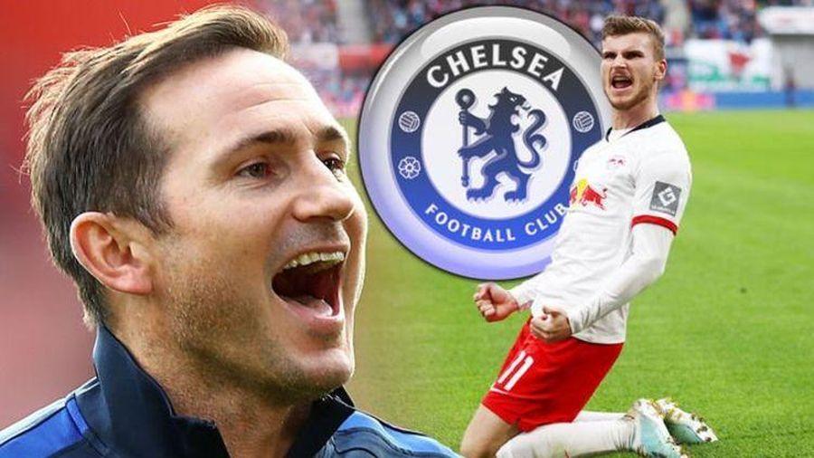 Đội hình đáng chờ đợi của Chelsea khi có Timo Werner