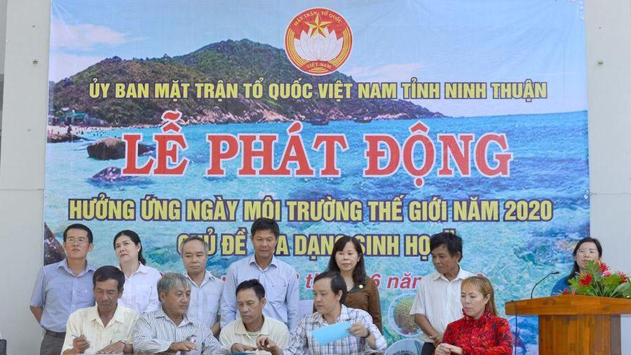 Mặt trận Ninh Thuận: Phát động hưởng ứng Ngày Môi trường thế giới năm 2020