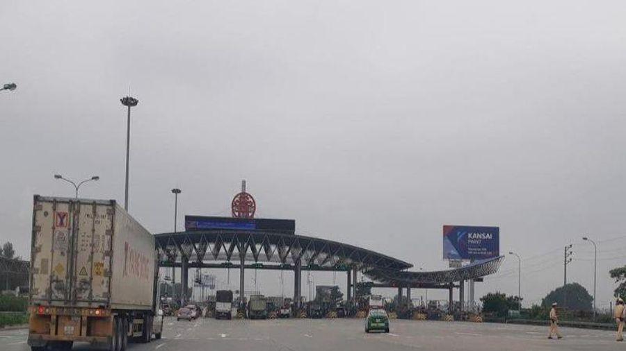 Bắt đầu thu phí tự động cao tốc Pháp Vân- Cầu Giẽ- Ninh Bình