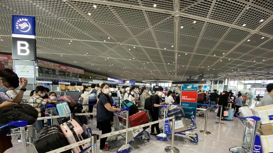 Chuyến bay thứ hai chở 340 người VN ở Nhật về nước, hạ cánh ở Đà Nẵng