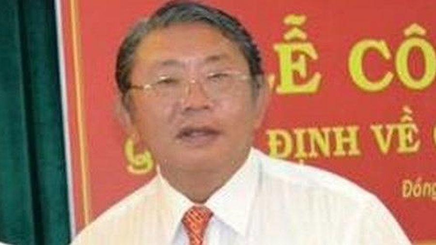 Đề nghị Ban Bí thư xem xét kỷ luật ông Phạm Văn Sáng
