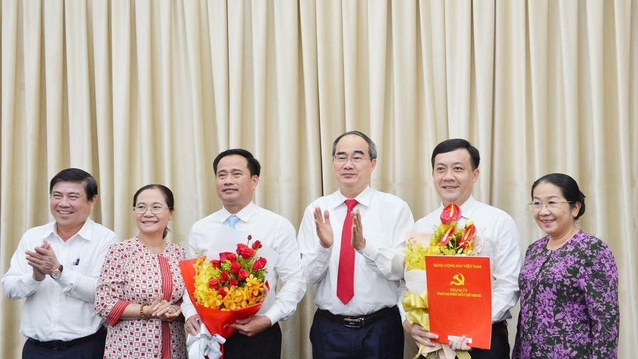 Ban Bí thư chỉ định bổ sung 2 Ủy viên Ban Chấp hành Đảng bộ TPHCM