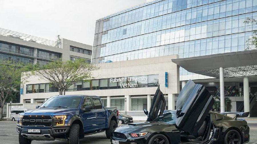 Bộ đôi Ford Mustang GT và F-150 Raptor gần 7 tỷ tại Sài Gòn