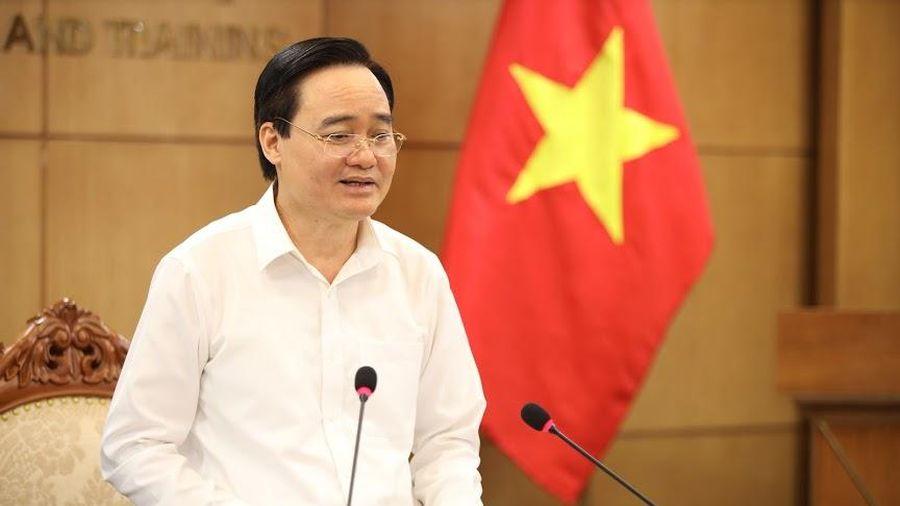 Bộ trưởng Phùng Xuân Nhạ nêu 5 nhiệm vụ quan trọng trong tổ chức thi tốt nghiệp THPT 2020