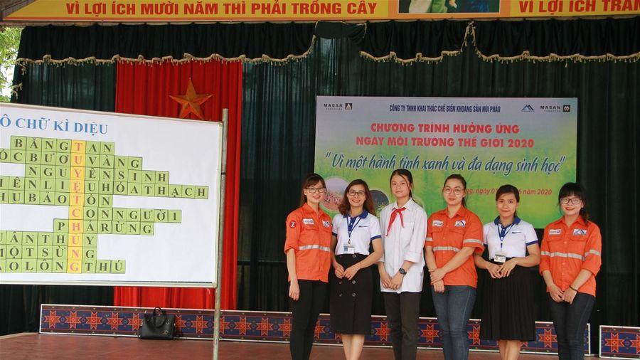 Thái Nguyên: Núi Pháo - Masan Tài nguyên hưởng ứng ngày môi trường