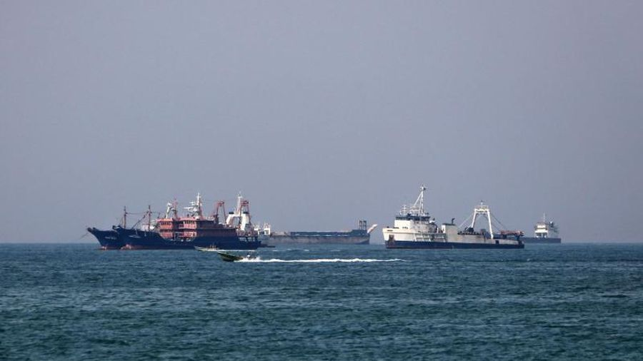 Tàu chở hàng của Iran bị chìm trong vùng lãnh hải của Iraq