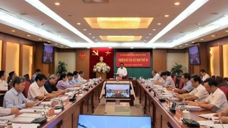 Cảnh cáo Phó Bí thư Tỉnh ủy, Chủ tịch UBND tỉnh Quảng Ngãi Trần Ngọc Căng