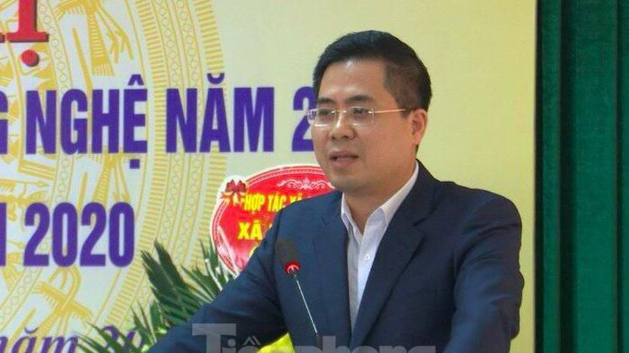 Phó Chủ tịch Thái Bình làm Thứ trưởng Bộ Khoa học và Công nghệ