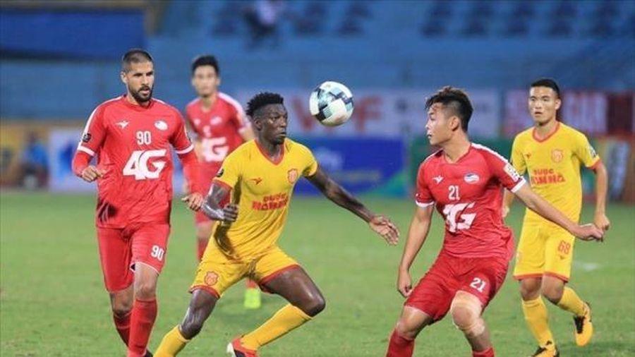 Trực tiếp Nam Định vs Viettel: Thiên Trường đi dễ khó về
