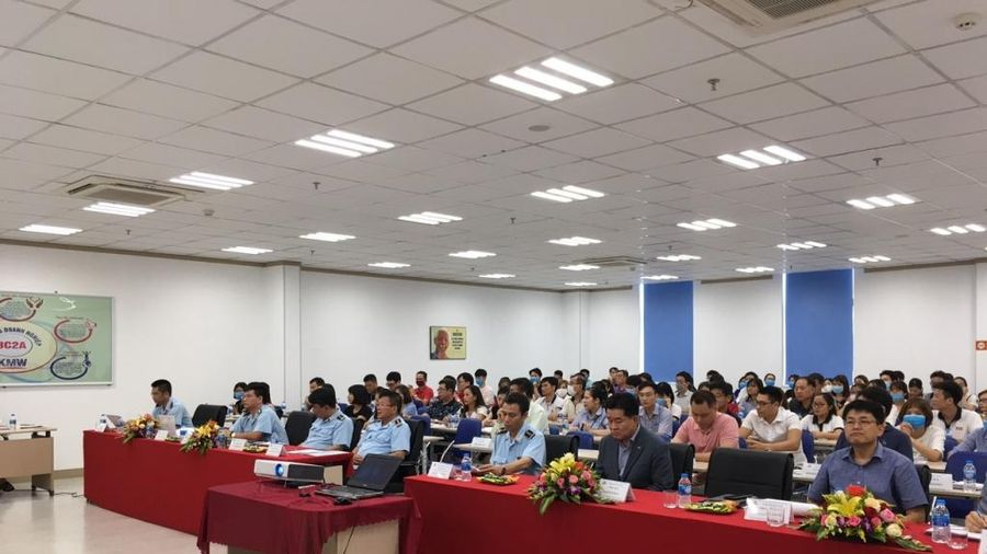 Hải quan Hà Nam Ninh đối thoại với Hiệp hội Korcham Hà Nam
