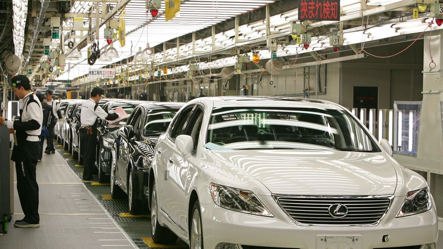 Doanh số tại Trung Quốc của các hãng ôtô Nhật Bản tăng trưởng khả quan