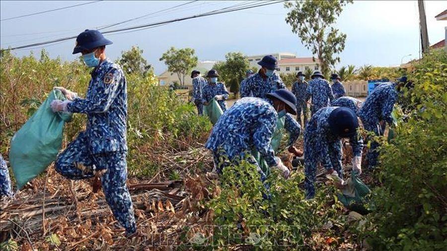Bộ Tư lệnh Vùng Cảnh sát biển 2 thiết thực hành động bảo vệ môi trường