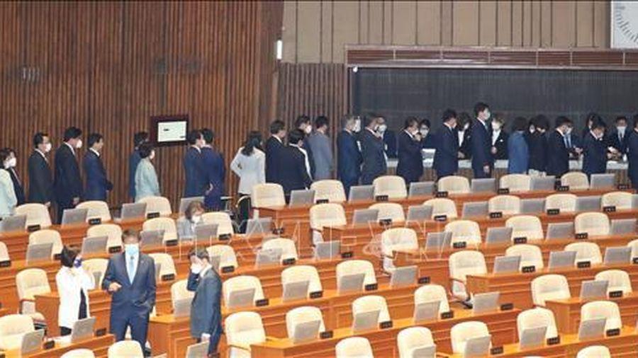 Lần đầu tiên Quốc hội Hàn Quốc khóa mới bầu ban lãnh đạo vắng mặt phe đối lập
