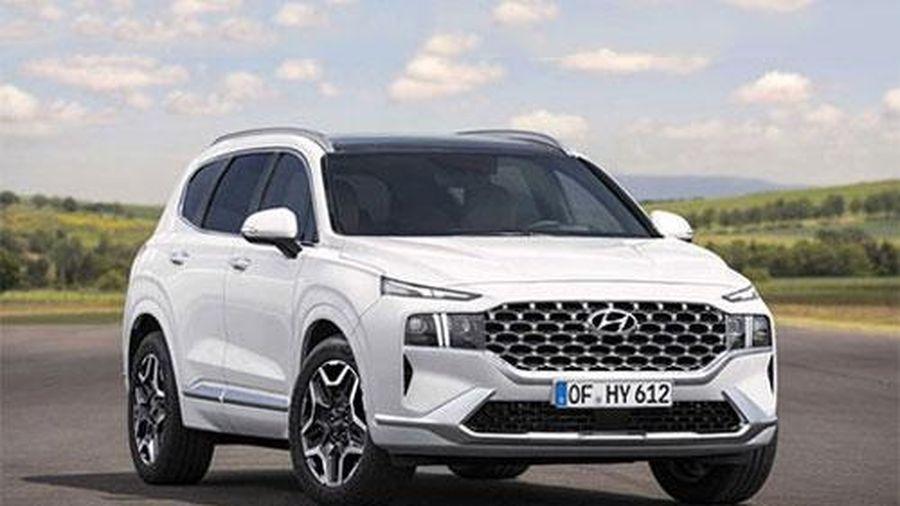Hyundai Santa Fe 2021 'lột xác' tuyệt đẹp, giá mềm, khiến Toyota Fortuner, Ford Everest 'suy sụp'