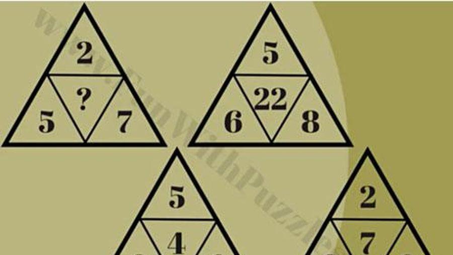 'Test IQ' với câu đố tìm quy luật ô số