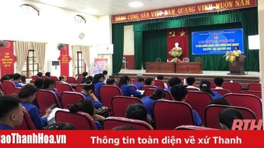240 đoàn viên thanh niên, học sinh được tư vấn, hướng nghiệp và giới thiệu việc làm