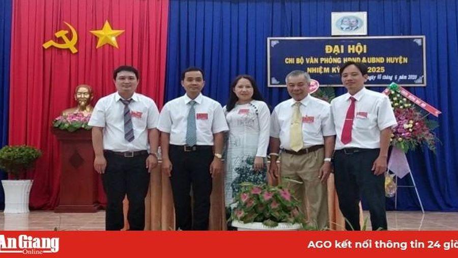 Đại hội Chi bộ Văn phòng HĐND và UBND huyện Phú Tân