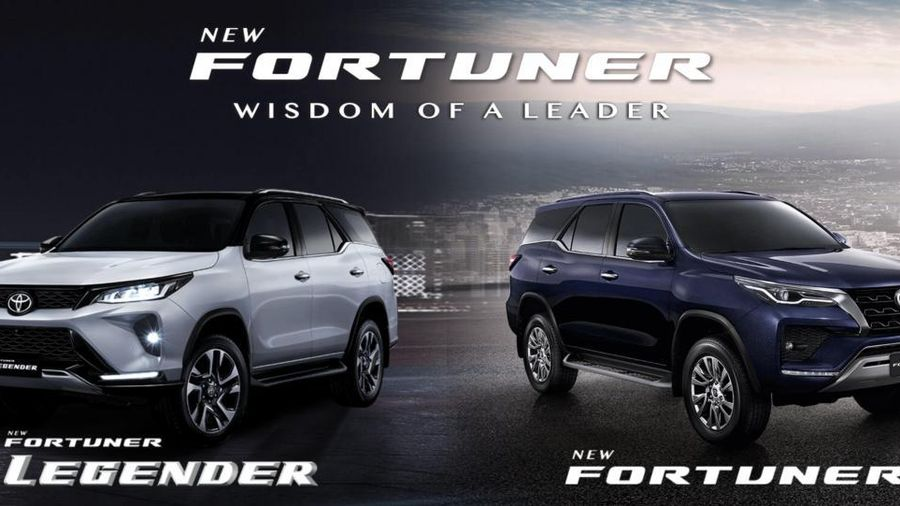 Toyota Fortuner facelift 2020 ra mắt với diện mạo mới mẻ