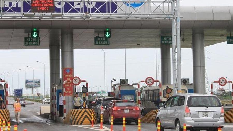 Từ 10/6, thu phí tự động không dừng cao tốc Pháp Vân-Ninh Bình