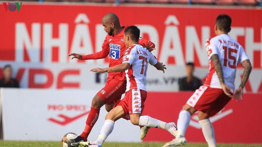 TRỰC TIẾP V-League 2020: Hải Phòng 0-0 TPHCM, Claudecir bỏ lỡ vô duyên